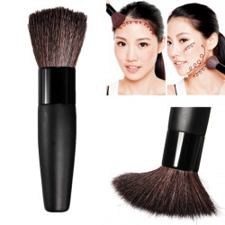 Multifunctional Cosmetic Flat Brush Face Makeup Blusher Powder Foundation