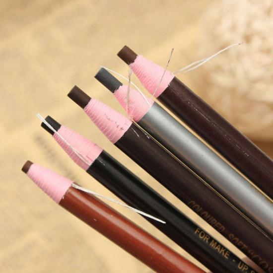 Peeling Makeup Cosmetic Eyebrow Eyeliner Eye Shadow Pencil Pen 2021