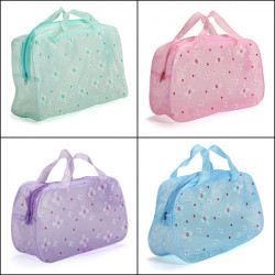 Portable Cosmetic Toiletry Bags Travel Makeup Bath Wash Bags