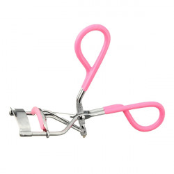 Portable Pink Makeup Eyelash Clip Cosmetic Curler Curling