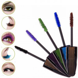 Prolong Thickening Colorful Music Flower Makeup Eye Mascara