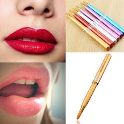 Retractable Telescopic Makeup Cosmetic Lip Outline Brush