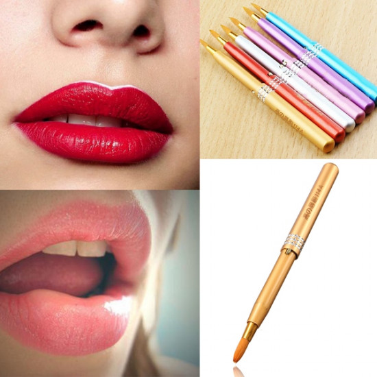 Retractable Telescopic Makeup Cosmetic Lip Outline Brush 2021