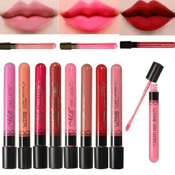 Smudge Makeup Waterproof Lipstick Lip Gloss Pen Makeup