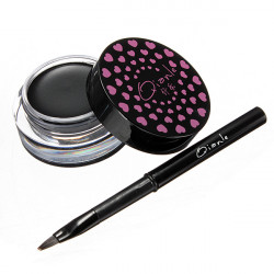 Soft Waterproof Long-lasting Eyeliner Gel Cream with Brush Makeup Set