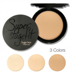 Sugarbox Pressed Powder Compact Face Makeup 3 Colors
