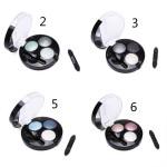 TUTU 3 Colors Makeup Cosmetic Eyeshadow Palette Makeup