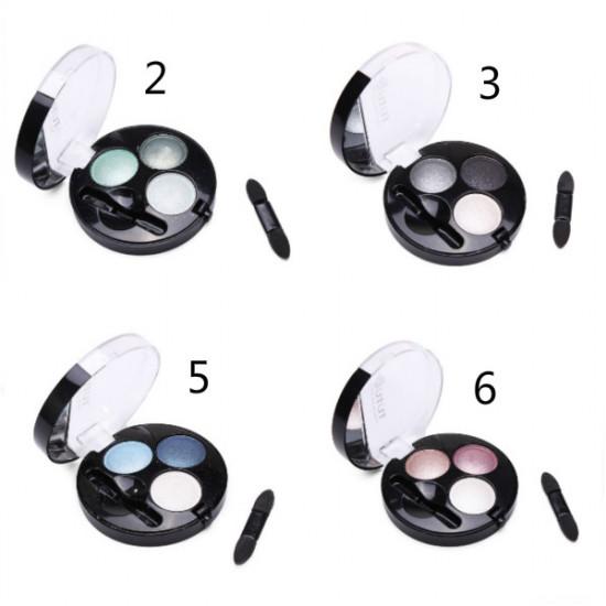 TUTU 3 Colors Makeup Cosmetic Eyeshadow Palette 2021