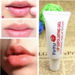 TUTU Lip Exfoliating Gel Magical Moisturizing Lip Exfoliator Makeup