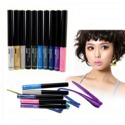 TUTU Makeup Waterproof Glitter Shiny Liquid Eyeliner 10 Color
