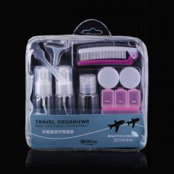 Travel Cosmetic Makeup Cream Empty Spray Bottles Suit