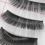 Trendy Handmade Dense Soft Spiky Long Makeup False Eyelashes 198 Makeup