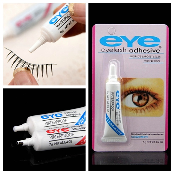 Two Colors Waterproof Eyelash Glue Adhesive For False Double Eyelid Makeup