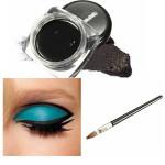 Waterproof Black Makeup Eyeliner Gel Cosmetic Eye Liner Brush Makeup