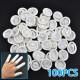 100Pcs Nail Art Latex Rubber Finger Cots Protector Gloves Powder 2021