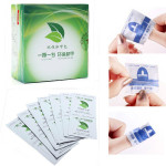 100Pcs UV Gel Nail Polish Foil Remover Wraps With Acetone