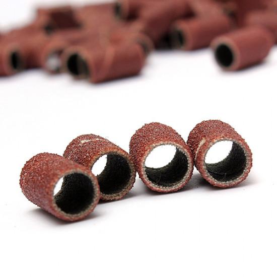 100pcs Electric Nail Drill Bits Sanding Bands #180 Manicure Pedicure 2021