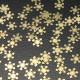 100pcs Xmas Christmas Nail Art Snowflake Decoration Sticker 2021