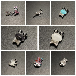 10PCS Crystal Frog Rabbit Fish Animals Manicure Nail Art Decoration Nail Art