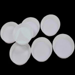 10PCS Plastic Rhinestone Round Tray Plate Nail Tool Nail Art
