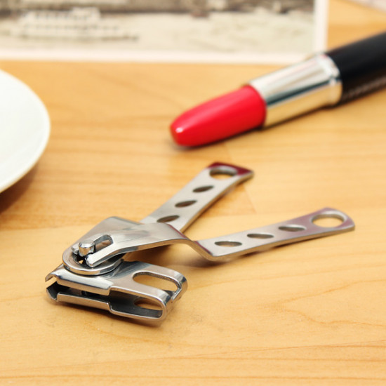10cm Stainless Steel Finger Nail Clipper Trimmer Manicure Cutter Tool 2021