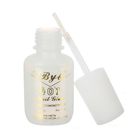 10g Long Lasting Practical 401 Nail Art Salon Glue Brush On 2021
