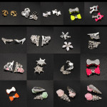 10pcs Metal Rhinestones Crystal 3D DIY Nail Art Tip Decoration