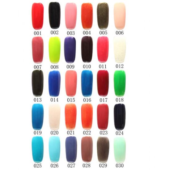 120 Color Nail Art Soak off LED UV Gel Polish 15ML 001-030 2021