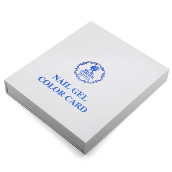120 Colors Nail Polish Display Chart UV Gel Color Card 2021