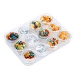 12 Boxes Copper FOIL Paillette Chip Nail Art Design Tips Decorations Nail Art