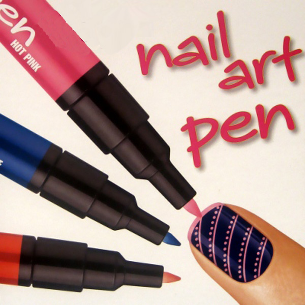 12 Colors Nail Art Drawing Pen Nail Varnish Polish Design Paint Pen Nail Art
