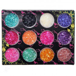 12 Colors Shell Powder Nail Art Decoration