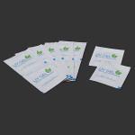 12Pcs Environmental Acrylic UV Gel Nail Polish Wipes Remover Pads