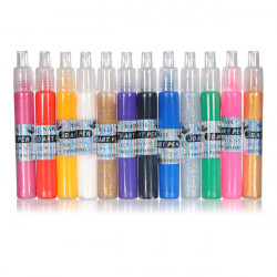 12pcs 3D Nail Art Varnish Pen Set