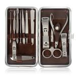 12pcs Nail Care Clipper Pedicure Scissor Tweezer Manicure Set Kit Nail Art