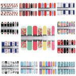 13 Styles Designs Star Flower Foils Nail Art Decal Sticker Nail Art