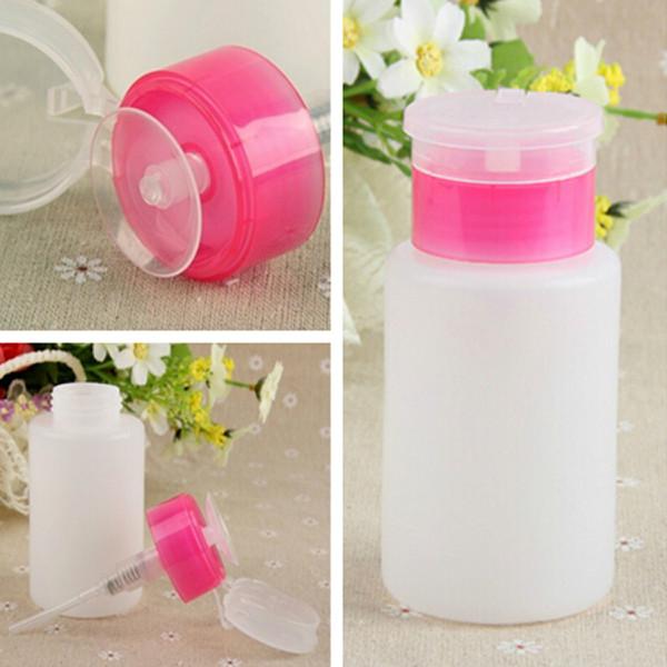 150ML Squeeze Pump Polish Dispenser Empty Bottle Nail Art