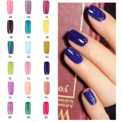18ml Nail Art 49-84Color Soak Off Color UV Gel Polish