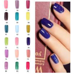18ml Nail Art 49-84Color Soak Off Color UV Gel Polish