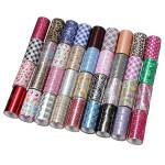 1 Roll Nail Art Glitter Transfer Foil Tips Decoration