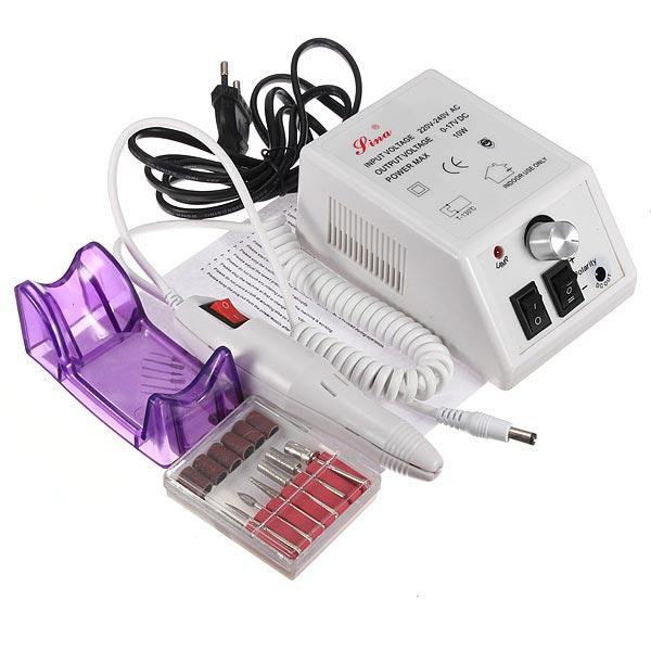 220V Pro Electric Drill Nail Art Machine Manicure Pedicure Kit Set Nail Art