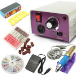 25000 RPM Electric Nail Art Drill Machine Set Manicure Tool Kit Nail Art