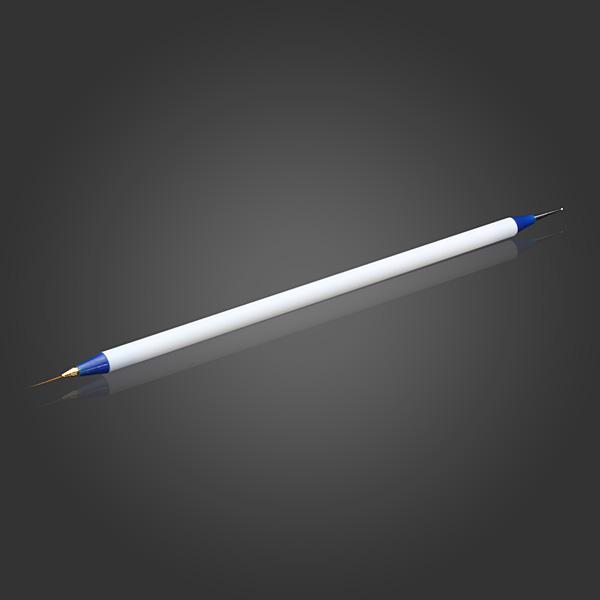 2 Ways Dotting Liner Paint Dot Brush Pen Tool Nail Art Manicure Nail Art