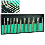 30x Electric Nail Art File Drill Bits Kits Shank 3/32