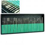 30x Electric Nail Art File Drill Bits Kits Shank 3/32 Nail Art