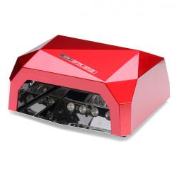 36W 100-240V Diamond Auto-induction Nail Art LED/UV Lamp UV Gel Dryer