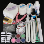 36W UV Gel Lamp Nail Art Manicure Tips Curing Set Kit Nail Art