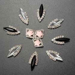 3D Alloy Crystal Glitter Rhinestone Phone Nail Art Decoration