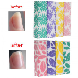 4pcs Nail Art Buffing Sponge Sanding Manicure Pedicure Files Block