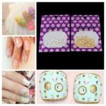 5mm Sliver Gold Shell Shape 3D Nail Art Decoration Nail Art